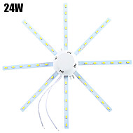 24W Luces de Techo 48 SMD 5730 1920 lm Blanco Fresco Decorativa AC 100-240 V 1 pieza