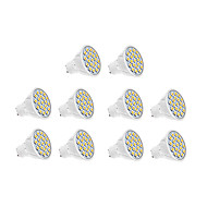 7W GU10 LED Spotlight 18 SMD 5630 570 lm Warm White / Cool White AC 220-240 V 10 pcs