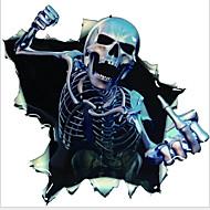Auto Aufkleber Skelett Angst Körper Aufkleber Graffiti-Auto-Abziehbilder