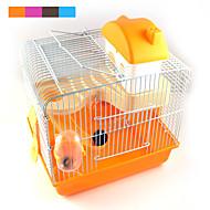 nieuwe hot verkoop van hoge kwaliteit plastic multi - gekleurde kasteel verhoogstrips hamster kooi hamster villa voor
