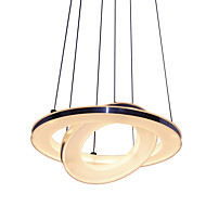 20W Modern/Contemporary LED Acrylic Pendant Lights Living Room / Bedroom / Dining Room / Study Room/Office