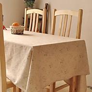 Blumenmuster Tischtuch Art und Weise hotsale hochwertigen Baumwoll-Leinen-Quadrat Couchtisch Tuchabdeckung Handtuch