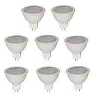 7W GU5.3(MR16) LED-spotlampen MR16 21 SMD 2835 500 lm Warm wit / Koel wit / Natuurlijk wit DC 12 / AC 12 V