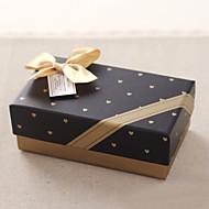 비 개인화-웨딩 / 기념일 / 브라이덜 샤워 / 베이비 샤워 / 성인식 & 스윗 16 / 생일-클래식 테마-기프트 박스(레드 / 블루 / 블랙,카드 종이)