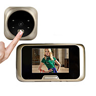 Besetey® 3.2 Inch Door camera with 4 IR Night View 120 Degree Wide Angle Lens Digital Door Viewer