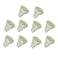 1.5W GU10 LED Spotlight 20 SMD 5050 190 lm Warm White / Cool White AC 220-240 V 10 pcs