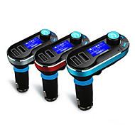 langaton hands-free Bluetooth-autosarja FM-lähetin mp3-soitin, jossa kaksi 2.1a USB-latausta, tukea usb / sd / aux-in