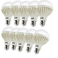 Youoklight® 10PCS E27 5W 9*SMD5630 450LM 3000K Warm White Light LED Globe Bulbs (AC220V)