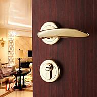 dorlink® laiton classique entrée à clé or serrure de porte