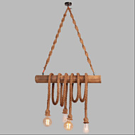 Bar Cafe Cafe Decorative Bamboo Rope Chandelier