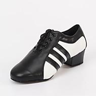 Sapatos de Dança(Preto) -Masculino-Personalizável-Latina / Jazz