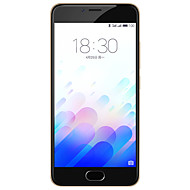 "MEIZU Meizu m3 5.0 "" FlyMe OS 4G smartphone (Dobbelt SIM Octa Core 13 MP 2GB + 16 GB Hvid)"