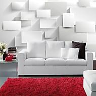 Damaszt Art Deco Wallpaper Otthoni Kortárs Falburkolat , Vinil Anyag ragasztószükséglet Falfestmény , szoba Falburkoló