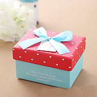 비 개인화-웨딩 / 기념일 / 브라이덜 샤워 / 베이비 샤워 / 성인식 & 스윗 16 / 생일-클래식 테마-기프트 박스(레드,카드 종이)
