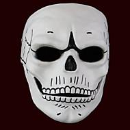 Maske Geist / Monster Fest/Feiertage Halloween Kostüme Weiß Druck Maske Halloween Unisex
