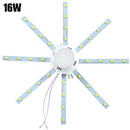 1 pcs YWXLIGHT 16W 32 SMD 5730 1280 lm Cool White Decorative LED Ceiling Lights AC 220-240 V