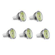 6W GU10 תאורת ספוט לד 48 610 lm לבן חם / לבן טבעי AC 100-240 V חמישה חלקים