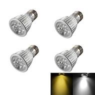 5W E26/E27 Lâmpadas de Foco de LED R63 5 LED de Alta Potência 400 lm Branco Quente / Branco Frio Regulável / DecorativaAC 85-265 / AC
