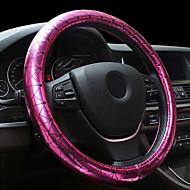 사계절 보라색 yeloow 흰색 휠 커버 스티어링 여자는 장미, 핑크 장미