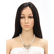 "18-20"" 7A Straight FrontLace Human Hair Wigs Glueless LaceFront Wigs Brazilian Virgin Hair Wigs Natural Straight Wigs"