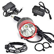 Cycling 3000Lm XML T6 LED Front Bicycle Lamp Bike Light Headlamp+6400mAh Battery