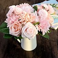 Seda / Plástico Rosas / Margaridas Flores artificiais