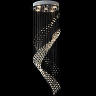 3 Contemprâneo Cristal / LED Galvanizar Metal Luzes PingenteSala de Estar / Quarto / Sala de Jantar / Cozinha / Quarto de