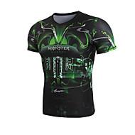 Getmoving®Ioga Suit Compression Secagem Rápida / Design Anatômico / Compressão / Elástico em 4 modos Elasticidade Alta Wear SportsIoga /