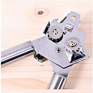 New Arrival Stainless Steel Can Opener Tin-opener Multi-functional Open Cans Bottle Opener Kitchen Utensils