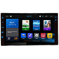 "7""2Din Quad Cord 1024*600 Android 4.4.4 Universal Car Navigation with car Radio,Audio,Video player,AM/FM,Built-in BT,RDS"