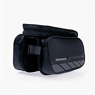 ROSWHEEL® Bike Bag 1.8LFahrradrahmentasche Wasserdichter Verschluß / Feuchtigkeitsundurchlässig / Stoßfest / tragbar FahrradtascheNetz /