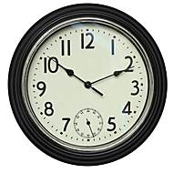 Redonda Moderno/Contemporâneo Relógio de parede,Outros Plástico 30*30*4.8