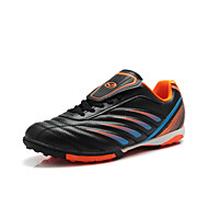 Men's Spring Summer Fall Winter Comfort Faux Leather Lace-up Black Blue Soccer