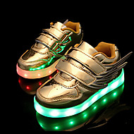 LED Light Up Shoes, Boys' Shoes Wedding / Outdoor / Casual Patent Leather Fashion Sneakers Pink / Silver / Gold shoes
