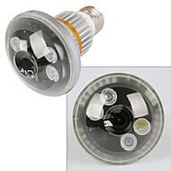 trådlös lampa kamera med LED-belysning och fjärrkontroll