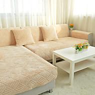 Som på bildet Formtilpasset Overtrekk til sofa , Chenille Stofftype slipcovere