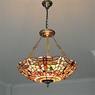 20 inch Retro Tiffany Pendant Lights Shell Shade Living Room Dining Room light Fixture
