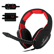 ho-939mv jogos de vídeo decodificador óptico auricular através de orelha auscultadores microfone destacável para pc / mac / xbox um / Xbox