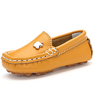 Boy's Boat Shoes Summer Comfort Leather Casual Blue / Yellow / Red