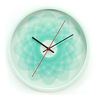 Rond Moderne/Contemporain Horloge murale,Autres Métal 34*34*8