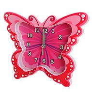 relógio de forma bonito novidade plástico mute alarme (cor aleatória)