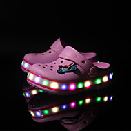 LED Light Up Shoes, Kids' lighting Shoes Outdoor beach sandal shoes / Casual Silicone Boat Shoes Blue / Pink / Light Green
