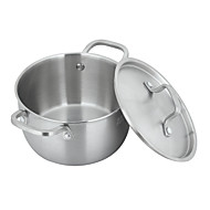 304  Stainless Steel Pot 20cm  With Five Layers Of Steel(3-6 People To Used)Cooker Gas Stove Universal