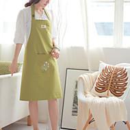 100% Baumwolle Schürzen Küche grüne Farbe Kochen