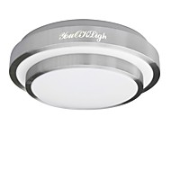 YouOKLight®  15W LED / Bulb Included Electroplated Acrylic Flush Mount Living Room / Bedroom / Dining Room (AC85~265V)