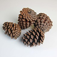 """3.6"""" A Pack Of Four Artificial Plants Pinecone Christmas Tree Decoration European Style 4pcs/set"""