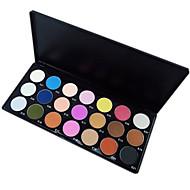 21 Paleta de Sombras Secos / Mate / Mineral Paleta da sombra Pó NormalMaquiagem para o Dia A Dia / Maquiagem de Fada / Maquiagem Esfumada