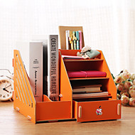 Desktop Storage Box Creative Wood Folder