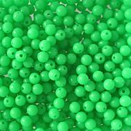 """100 pcs Conjuntos de Isco Verde 100pc g/1/18 Onça,5mm mm/<1"""" polegada,Plástico Duro / Aço Inoxidável /FerroPesca de Mar / Pesca Voadora /"""