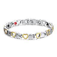 Armbänder Ketten- & Glieder-Armbänder Titanstahl Magnettherapie Alltag / Normal Schmuck Geschenk Silber,1 Stück